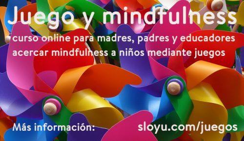 Curso online Juego y Mindfulness
